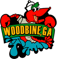 Logo for Woodbine Crawfish Festival
